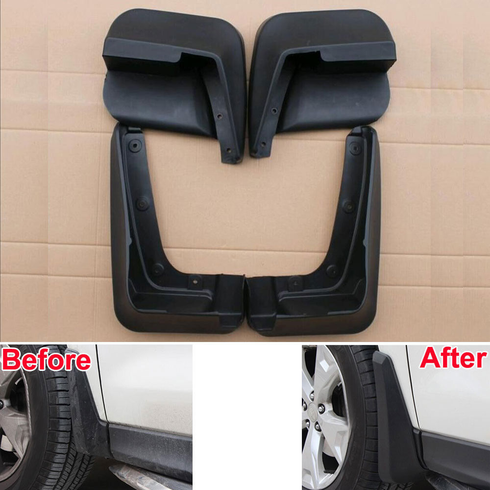 Auto Front Rear Mudguard Splash Guard Car Fender Mudflap Mud Flaps Kit Protector Cover Car Styling