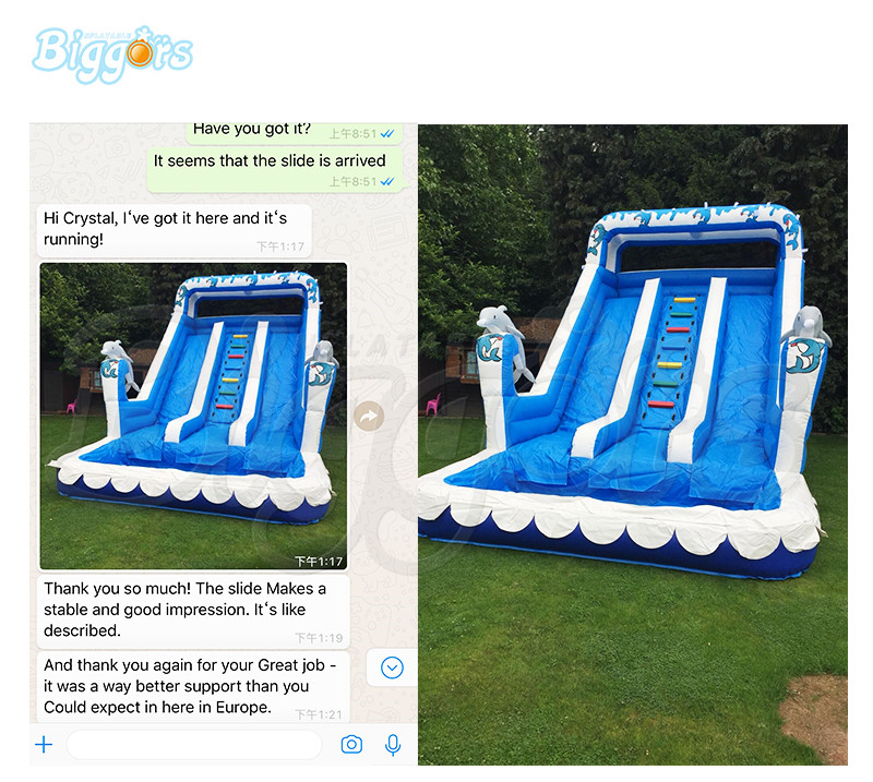9036water slide feedback