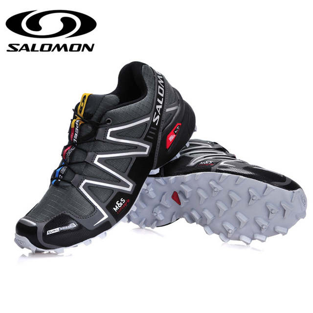 site réputé 125e8 c05c9 Salomon Speedcross 3 CS III Men's Outdoor Shoes Breathable solomon Running  Athletic zapatos de hombre Male Running Sneaker