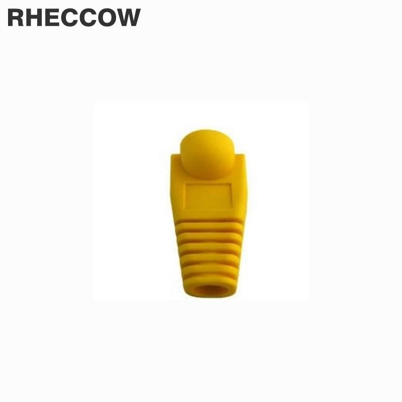 Elektronische Bauelemente Und Systeme Willensstark Rheccow 200 Teile/los Rj45 Rj-45 Gelber Stecker Kappe Boot Cat5 Cat5e Cat6 Netzwerkanschluss Rj 45 Ethernet-kabel Schutzhülle Kaufen Sie Immer Gut
