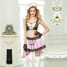 Women Maid Dress Cosplay Sexy Babydoll Lingerie Hot Erotic Porno Costumes Underwear