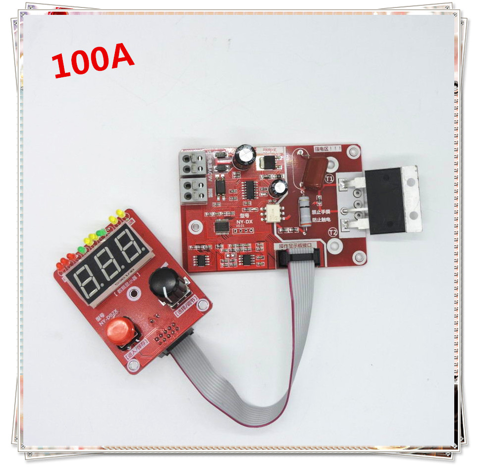 Sincere Ny-d04 Diy Spot Welding Machine Transformer Controller Control Panel Board Adjust Time Current Digital Display Buzzer Led Pulse Circuits Consumer Electronics