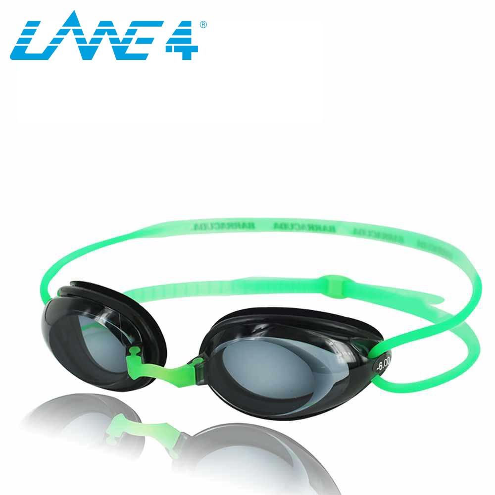 LANE4 optikai úszószemüveg hidrodinamikai profilkeret szilikon - Sportruházat és sportolási kiegészítők