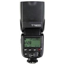Godox Flash de cámara inalámbrica TT600, 2,4G, GN60 Master/Slave, Speedlite, Speedlight, para Canon, Nikon, Pentax, Olympus, Fujifilm