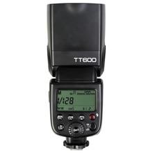 Godox TT600 2.4G אלחוטי GN60 מאסטר/עבדים מצלמה פלאש Speedlite מבזק עבור Canon Nikon Pentax אולימפוס Fujifilm