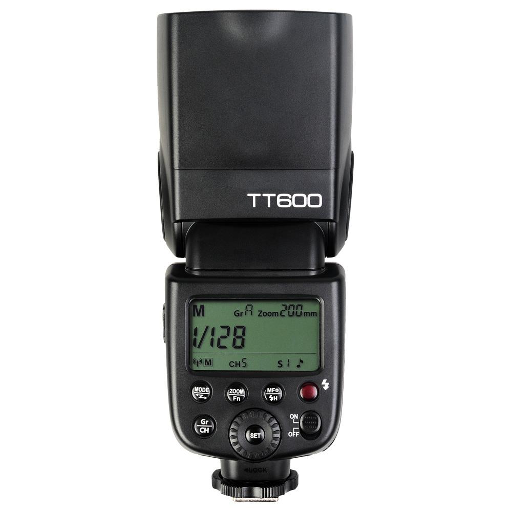 Prix pour Godox TT600 2.4G Sans Fil GN60 Maître/Esclave Caméra Flash Speedlite Flash pour Canon Nikon Pentax Olympus Fujifilm