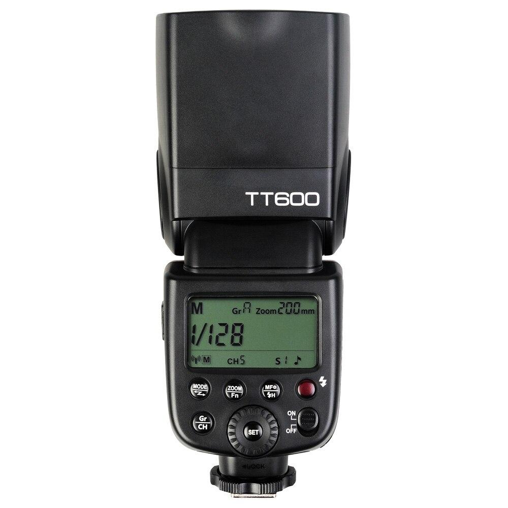 Godox TT600 2.4G Sem Fio GN60 Master/Slave Flash Da Câmera Speedlite flash para Canon Nikon Pentax Olympus Fujifilm