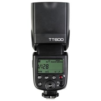 Godox TT600 2 4G bezprzewodowy GN60 Master Slave lampa błyskowa Speedlite lampa błyskowa do Canona Nikon Pentax Olympus Fujifilm tanie i dobre opinie 400g 14 1oz Flash Light 6 4 * 7 6 * 19cm 2 5 * 3 * 7 5in 5400K-5800K AA batteries Thinklite TT600 2 4G Wireless Master Slave Flash