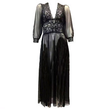 Long Black Robe Promotion-Shop for Promotional Long Black Robe on  Aliexpress.com 0f06b0c1cc20