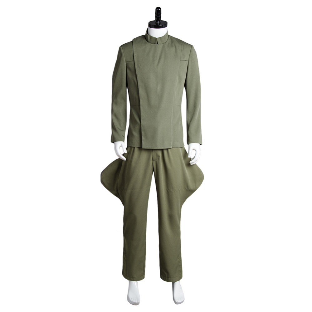 Star Wars Imperial Officer Olive Green Uniform Top Pants For Men Movie Halloween Cosplay Costume Halloween Carnival Unisex Sets