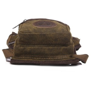 Image 5 - Mens Waterproof Canvas Waist Drop Leg Bag Fanny Pack Thigh Hip Bum Belt Motorcycle Military Tactical for Travel Riding Hiking