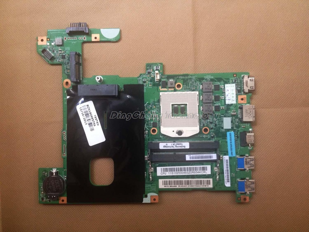 SHELI laptop Motherboard for Lenovo G580 LG4858L with integrated graphics card hm70 DDR3 100% tested Fully