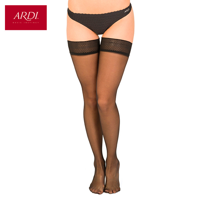 Transparent stockings 20 den ARDI Bas Insessibles 20