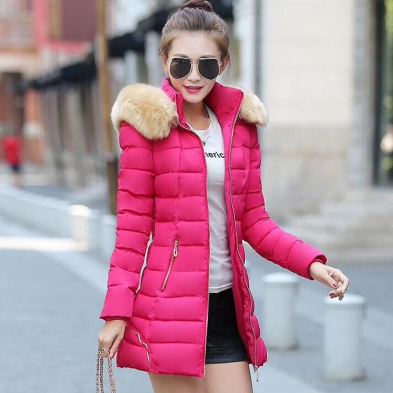 Winter Jacket Women Parka Coat For Womens jackets And Coats Slim Abrigos Y Chaquetas Mujer Invierno 2016 Manteau Femme casaco