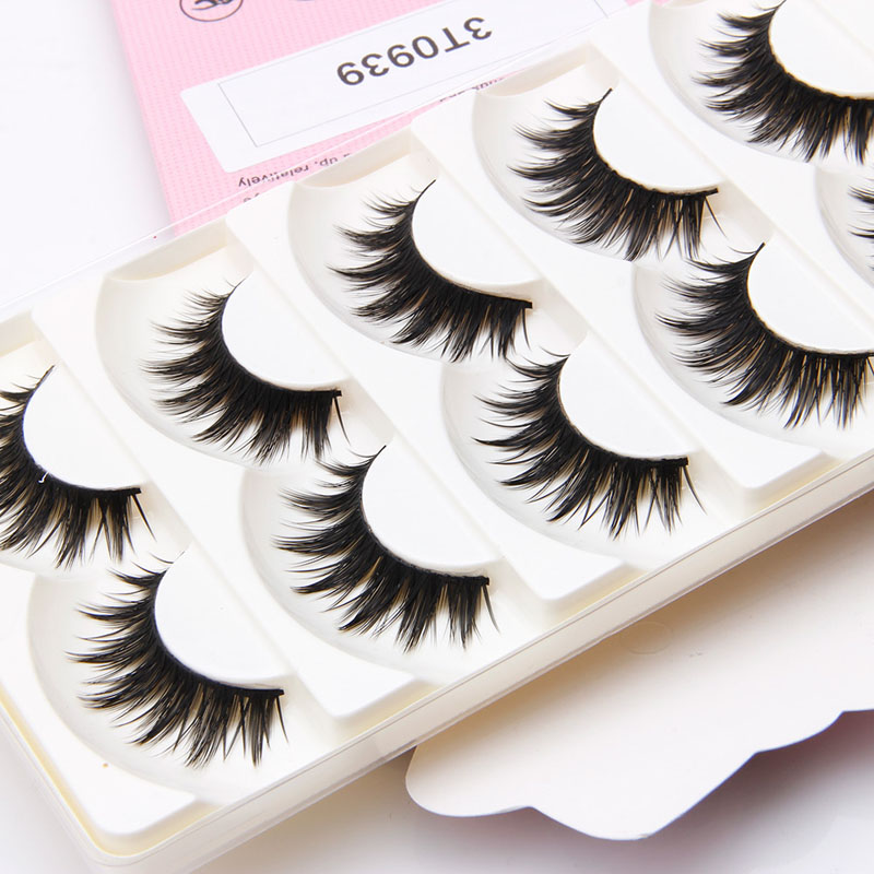 06286663525 Nice 5 Pairs Natural Soft Handmade Long Black Makeup Thick False Eyelashes  Eye Lashes -in False Eyelashes from Beauty & Health on Aliexpress.com |  Alibaba ...