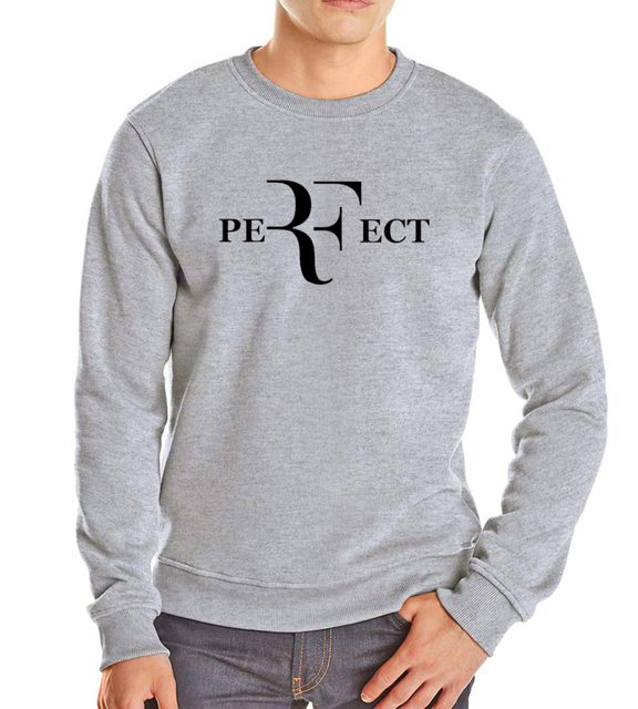 2017 autumn winter fashion fleece roger federer black mma perfect brand sweatshirt tracksuit drake hoodies men hip hop harajuku