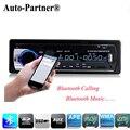Автомагнитолы MP3 Стерео Плеер Bluetooth Телефон AUX-IN MP3 FM USB 1-Din дистанционного управления 12 В авто Аудио тактика радио пункт карро