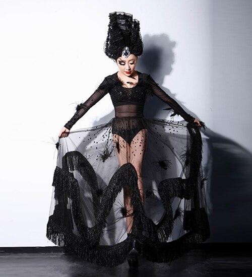 Fashion Female Singer Ds Costume Dj Sexy Costumes