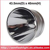 43.5mm (D) x 40mm (H) OP Refletor de Alumínio (1 pc)|reflector|reflector 43|reflector aluminium -