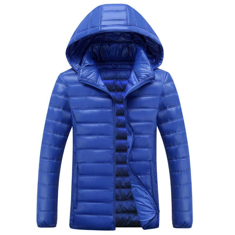 B nouveau hiver hommes bas coton manteaux mode veste hommes poche Slim Fit à capuche Parka haute qualité grande taille S-7XL