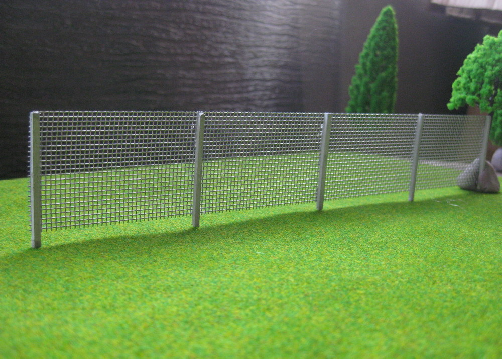 Lg7201 1 Meter Model Wire Mesh Fencing Chain Link 1 76 Oo