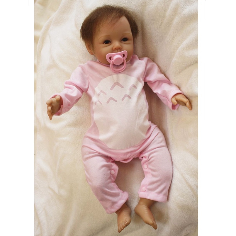 Reborn Babies Dolls Soft Vinyl Reborn Baby Bonecas Educational Toys for Children Gifts,50 CM Baby Alive Doll for Girls Toys
