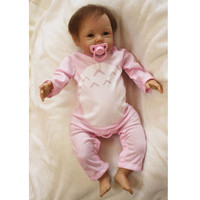 Reborn Babies Dolls Soft Vinyl Reborn Baby Bonecas Educational Toys for Children Gifts,50 CM Baby Alive Doll for Girls Toys