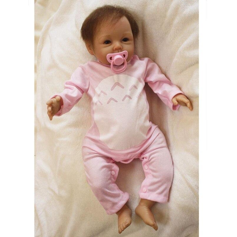Reborn bébés poupées doux vinyle Reborn bébé Bonecas jouets éducatifs pour enfants cadeaux, 50 CM bébé vivant poupée pour filles jouets