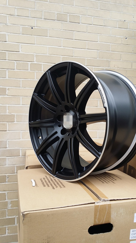19 e63s amg style style black wheels rims for mercedes for Mercedes benz c240 wheels