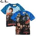 Crianças meninos t shirt crianças roupas de verão Jurassic dinossauro mundo bebê menino roupas de manga curta t - shirt novos tops tees vestuário