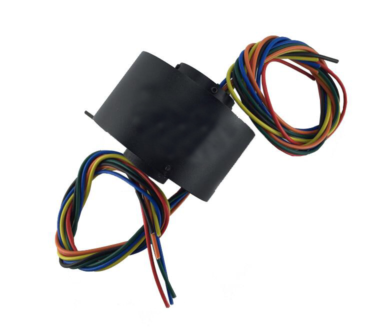 M slipring slip ring Dia. 54mm 6 Channel 10A hole dia.:12.7mm MST012-54-0610 Conductive ring collector ring integrated m slipring mini capsule slip ring