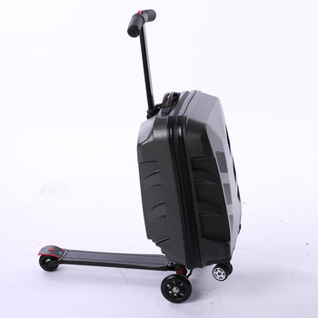 Aluminum Lock Scooter Suitcase 1