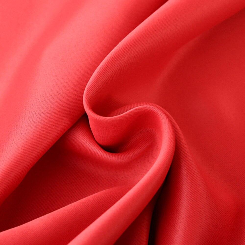 Einfarbig Verdunkelungsvorhänge Schattenisolierung 100 * 215 cm - Haustextilien - Foto 5