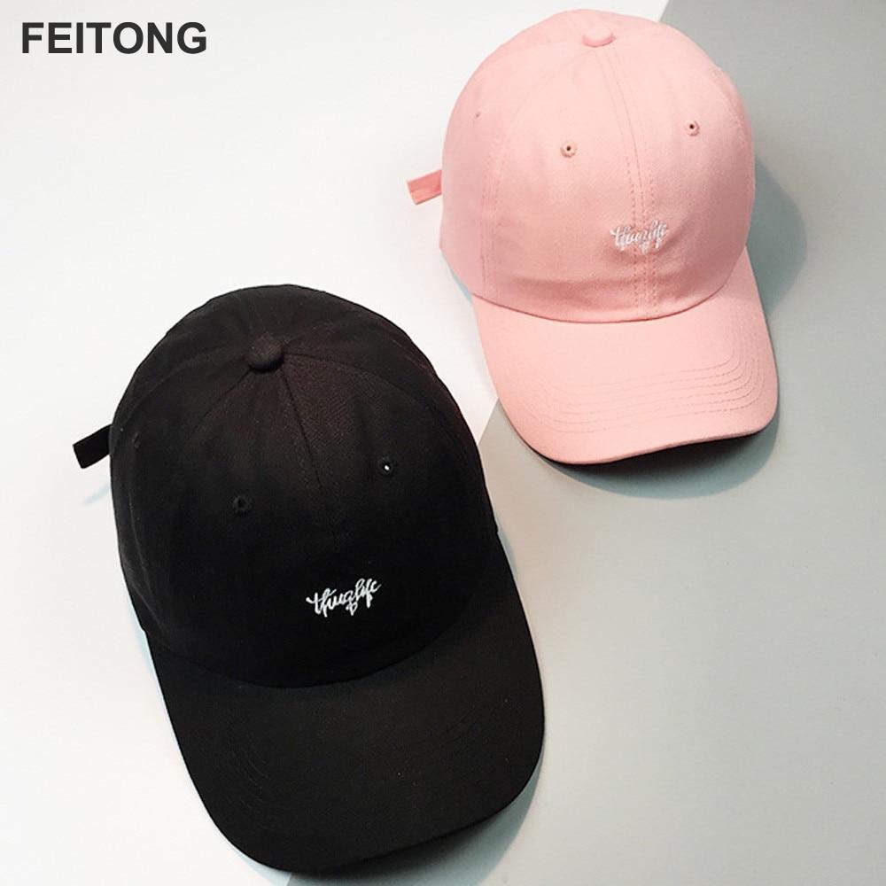 Women Baseball Cap Men 2017 Fashion Brand Couple Embroidery Letter Baseball Cap Unisex Snapback Hip Hop Flat Hat wholesale#ES