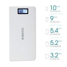 20000 mAh ROMOSS Sense 6 / 6 Plus LCD Portable