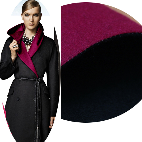 2015 cloth fabric DIY crazy deficit double sided cashmere Rose Black 125 patchwork 1 meter