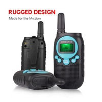 SOCOTRAN SC R40 child walkie talkie 2 pcs PMR446 license free RADIO 8CH two way radio amador Privacy code rechargeable battery