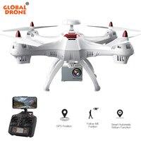 Глобальный Drone X183 RC gps Drone с Камера 4k 1080P широкоугольный HD Профессиональный WI FI FPV Quadcopter Вертолет VS SYMA x8 X8PRO