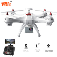 Global Drone X183 RC GPS Drone with Camera 4K 1080P Wide Angle HD Professional WIFI FPV Quadcopter Helicopter VS SYMA X8 X8PRO