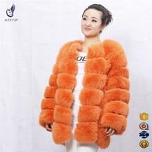 Jackets women 2016 winter coat warm winter thick real fox fur coat