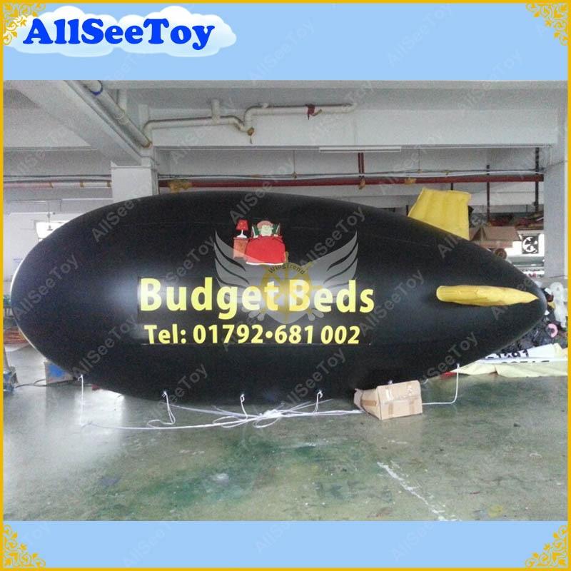6 метров надувной рекламы гелий Blimp/воздушный корабль/Zeppelin с вашим большое лого, как вы хотите/