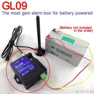 Image 2 - ใหม่ 8 ช่อง GL09 Super MINI GSM ระบบ SMS สัญญาณเตือนภัยระบบรักษาความปลอดภัยเหมาะสำหรับแบตเตอรี่แบบพกพา Alert