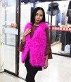 Ostrich hair vest 70CM 2016Best Sellers