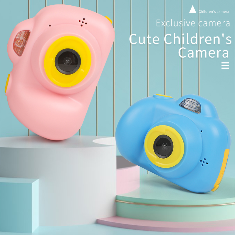 Toys For Kids Camera, Cute Baby Camera With 1080P 2 Inch HD Screen, Educational Toy Kids Birthday Gift