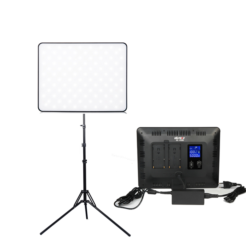 Viltrox VL200T 30W Wireless Remote LED Video Studio Light Lamp Slim Dimmable Light stand for Camera