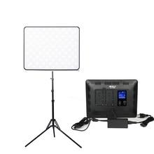 Viltrox VL200T 30W Draadloze Afstandsbediening Led Video Studio Light Lamp Slim Dimbare + Light Stand Voor Camera Facebook Youtube