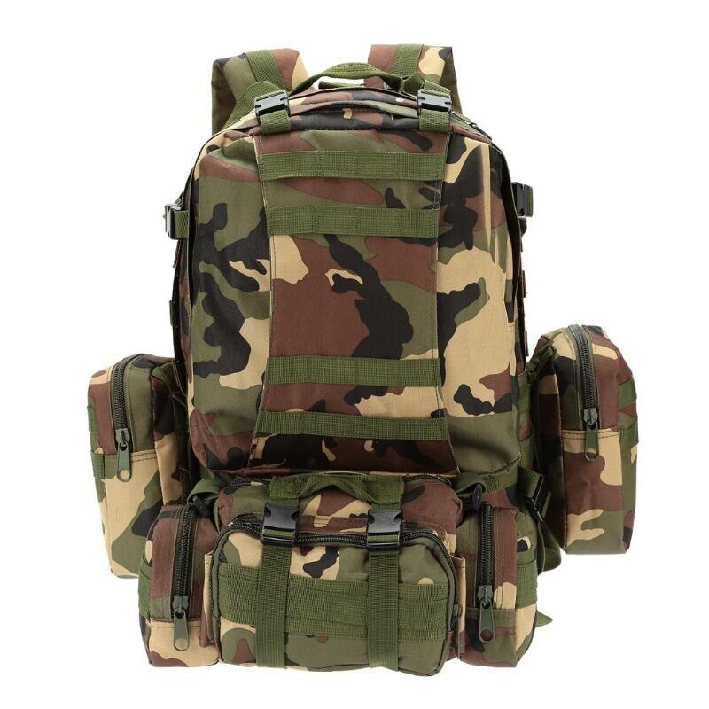 50L militaire tactique sac à dos grande capacité randonnée Camping Camouflage sac à dos en plein air escalade sac voyage sac à dos