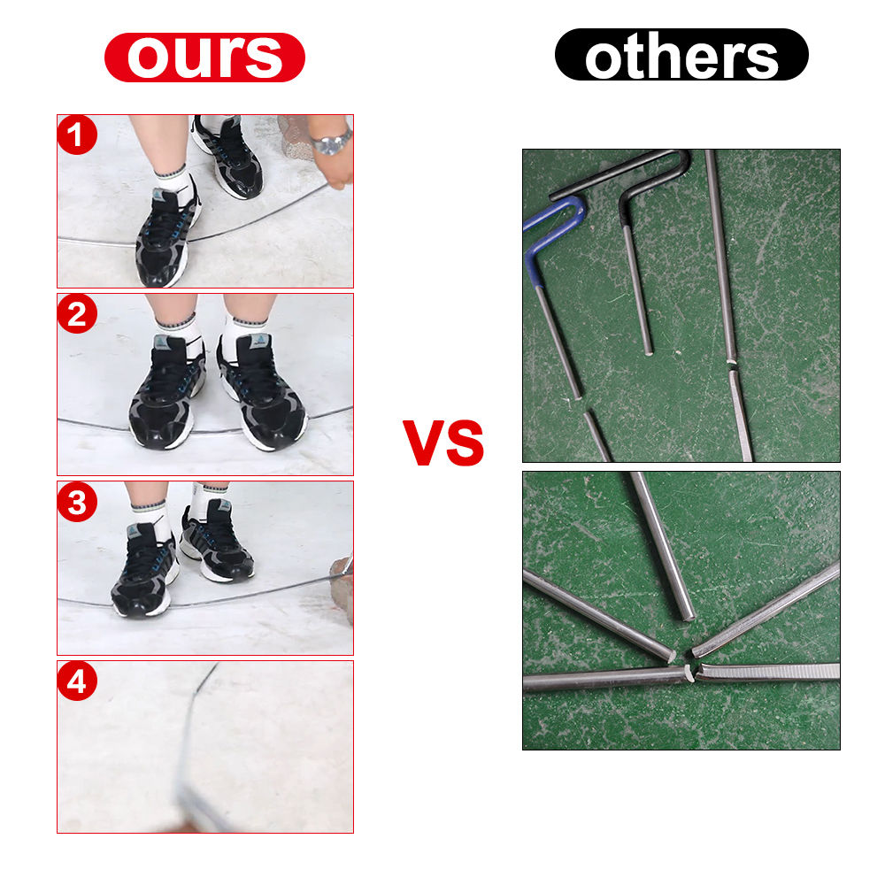 Super PDR Hook Tools Push Rods Dent Removal Tools Paintless Dent Repair Tools Car Body Repair Kit TNT/DHL Free Shipping