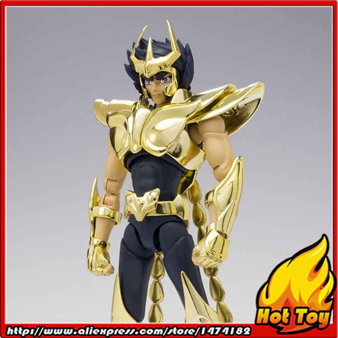 BANDAI Tamashii Nations Saint Cloth Myth EX Exclusive Action Figure - Phoenix Ikki (New Bronze Cloth) -GOLDEN LIMITED EDITION-
