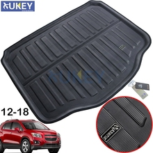 Rear Trunk Cargo Boot Liner Mat Floor Tray Carpet Protector Pad For Chevrolet Holden Trax Tracker 2013 2014 2015 2016 2019